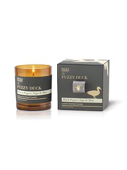 Fuzzy Duck Black Pepper, Sage & Moss Candle