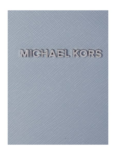 Michael Kors Jetset travel blue cross body bag