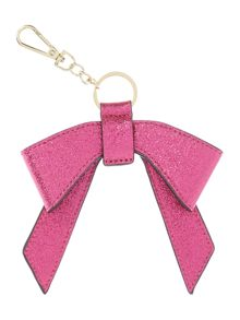Therapy Bow charm keyring