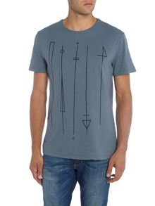 Label Lab SYmbols Stretch Text Tee