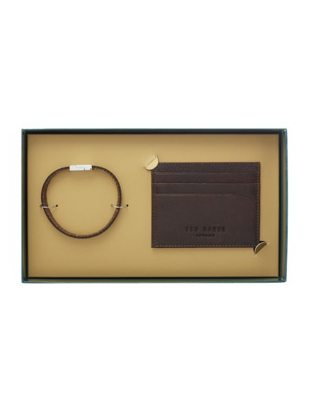 Ted Baker Accsi Card Holder and Bracelet Gift