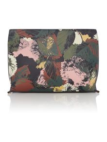 Linea Floral clutch bag