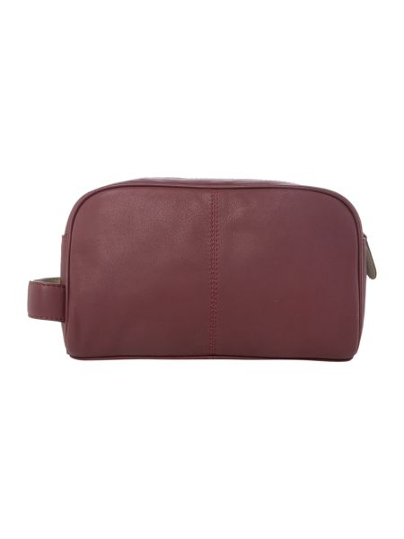 Ted Baker Footsy Colour Leather Washbag