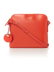 Radley Millbank orange small cross body bag