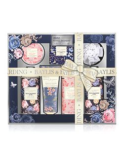 Royale Bouquet Midnight Tray Set