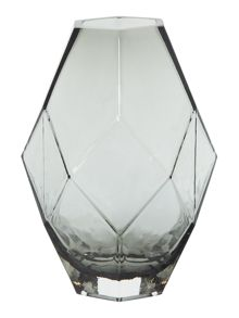 Bloomingville Glass vase grey
