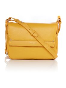 Radley Addison yellow small cross body bag