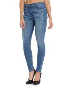 Hudson Jeans Nico mid rise super skinny in glider