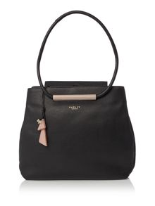 Radley Albemarle black large shoulder bag