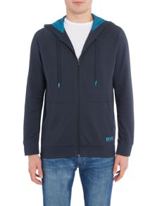 Hugo Boss Hooded Jersey Loungwear Sweatshirt