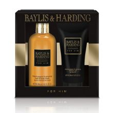 Baylis & Harding Mens Black Pepper & Ginseng 2 Piece Set