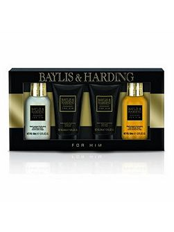 Men`s Black Pepper & Ginseng 4 Piece Box