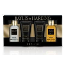 Baylis & Harding Men`s Black Pepper & Ginseng 4 Piece Box