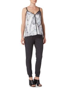 Label Lab Enslow hydrangea print cami top