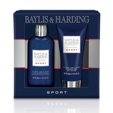 Baylis & Harding Men`s Sport Citrus Lime & Mint 2 Piece Gift Set