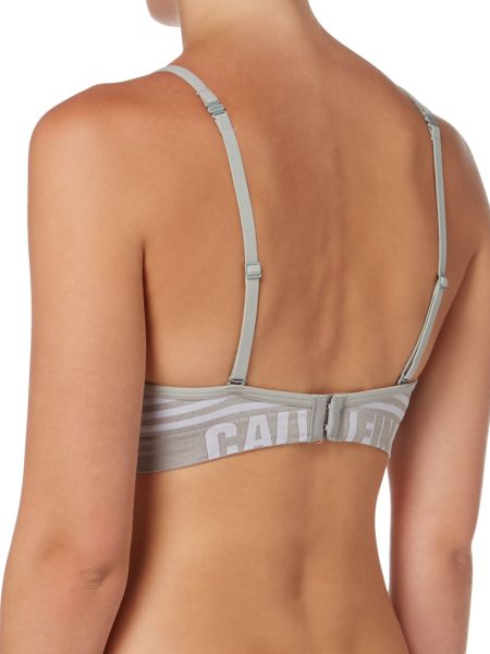 Calvin Klein Seamless logo demi lightly lined multiway