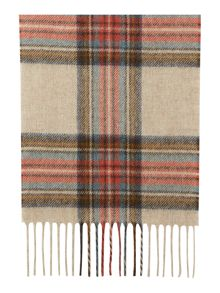Barbour Country check scarf