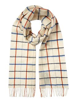Country tattersall scarf