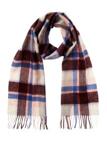 Barbour Cashmere blend country plaid scarf