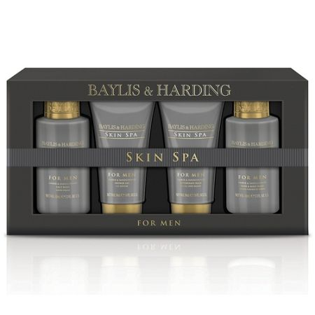 Baylis & Harding Men`s Skin Spa For Men 4 Piece Box Set