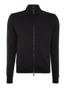 Hugo Boss Sommers 10 zip through funnel neck sweat top