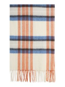 Barbour Country plaid wrap