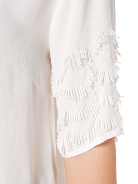 Gray & Willow Iyla icicle beaded top