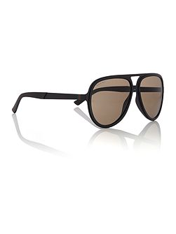 Black matte pilot GG2274/S sunglasses