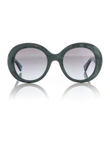 Gucci Green round GG 3815/S sunglasses