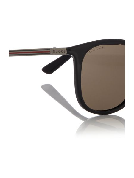 Gucci Black round GG1130/S sunglasses