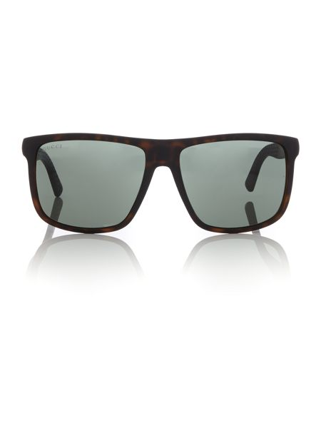 Gucci Tortoise rectangle GG1075/N/S sunglasses