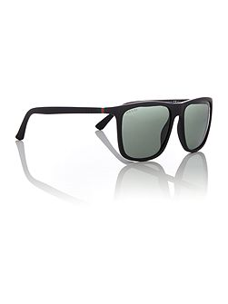 Matte rectangle GG 1132/S sunglasses