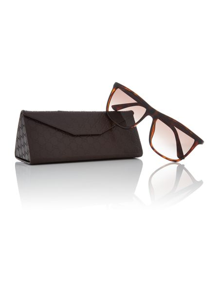 Gucci Tortoise rectangle GG 1132/S sunglasses