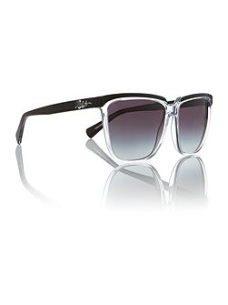 Black square RA5214 sunglasses