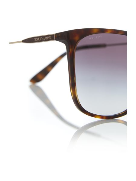 Giorgio Armani Sunglasses Gold square AR8080 sunglasses