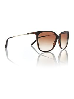 Gold square AR8080 sunglasses