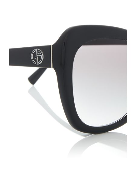 Giorgio Armani Sunglasses Black cat eye AR8082 sunglasses