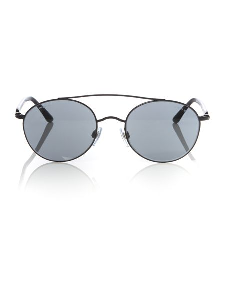 Giorgio Armani Sunglasses Black round AR6038 sunglasses