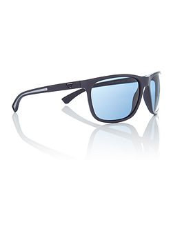 Blue rectangle EA4078 sunglasses