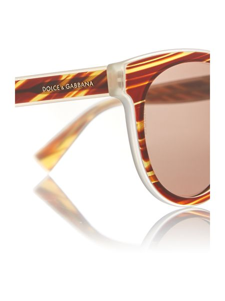 Dolce&Gabbana Brown phantos DG4285 sunglasses