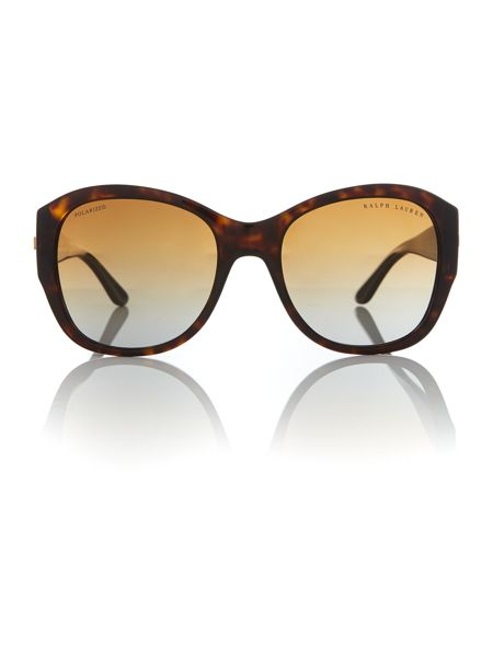 Polo Ralph Lauren Brown square RL8148 sunglasses