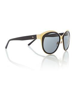 Shiny gold irregular 0RL7051 sunglasses