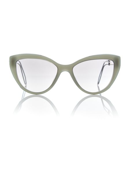Miu Miu Green cat eye 0MU 12RS sunglasses