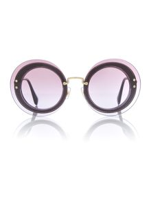 Miu Miu Transparent round 0MU 10RS sunglasses