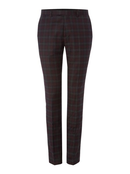 Label Lab Axl flannel check skinny suit trouser