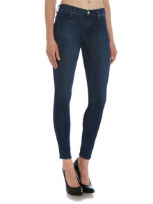 J Brand 620 mid rise super skinny jean in fix