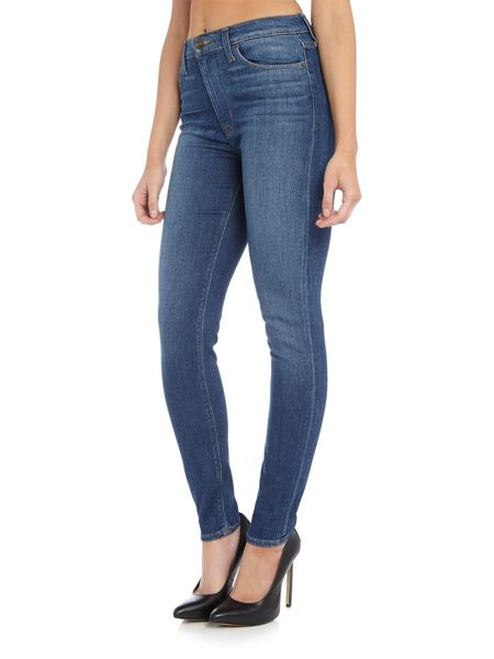 Hudson Jeans Barbara high waist skinny in downpour