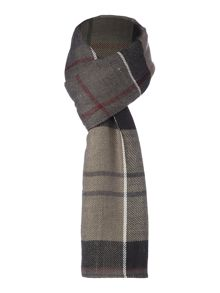 Barbour Tartan long and wide wrap