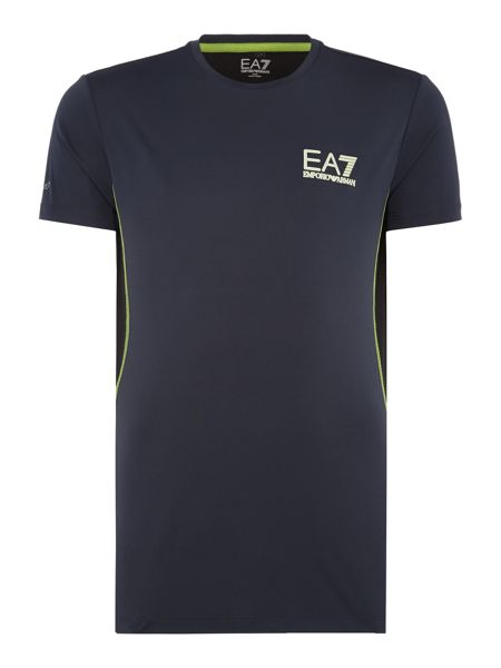 EA7 Short Sleeve Ventus Crew Neck T-shirt