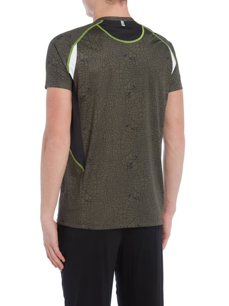 EA7 Short Sleeve Ventus Printed Crew Neck T-shirt